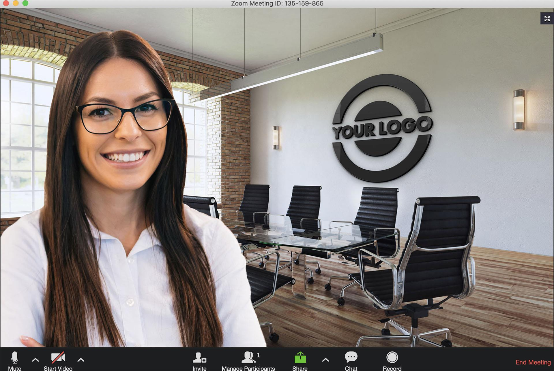 ManyCam virtual background
